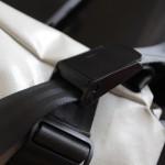 Mechanism of the shoulder strap